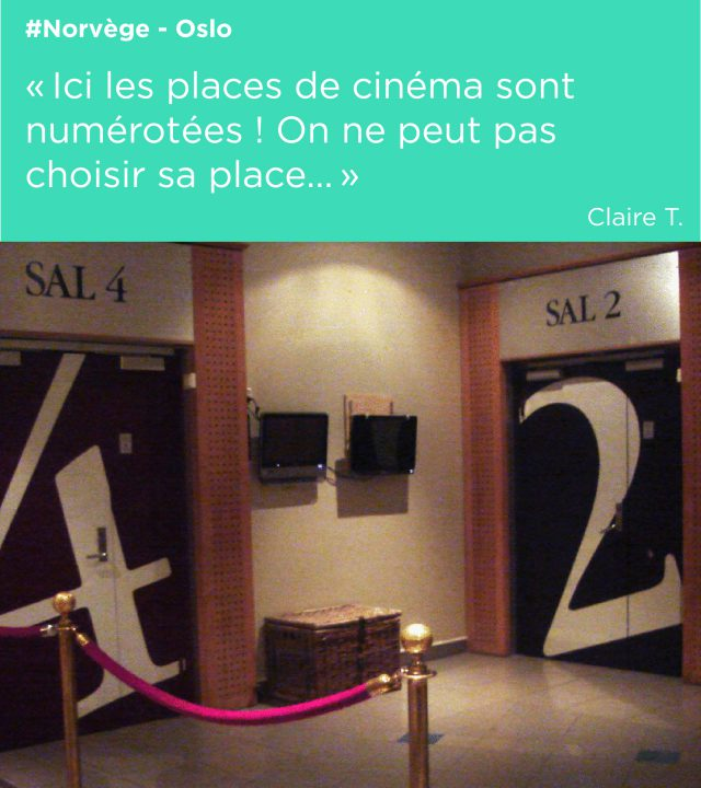 cinéma salle signalétique oslo