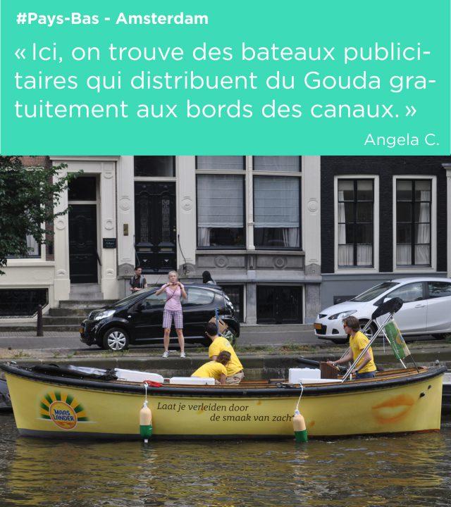 plv bateaux gouda distribution habillage publicitaire