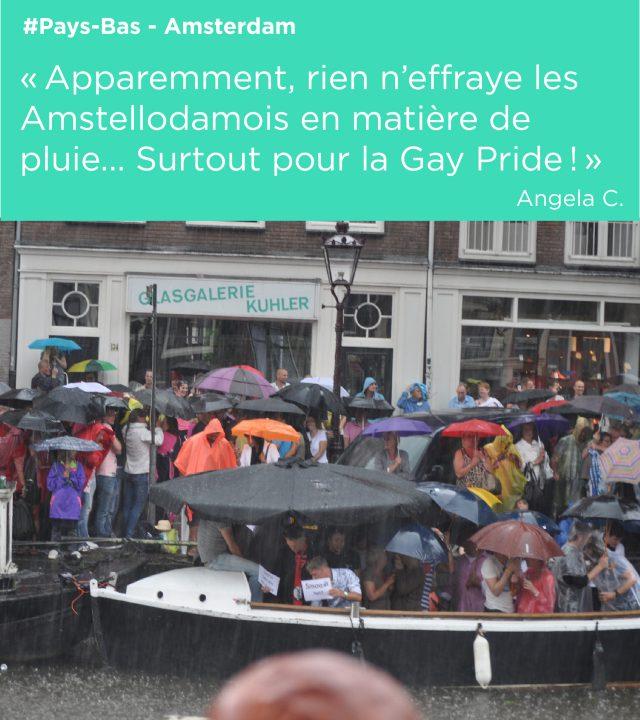 gay pride pluie amsterdam