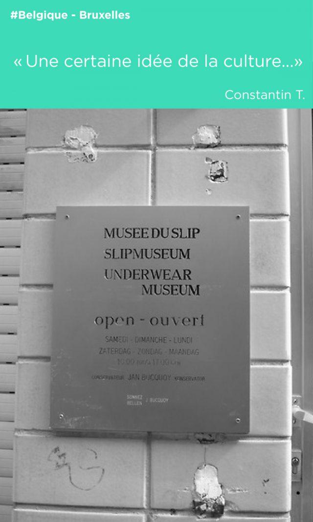 musée du slip enseigne culture