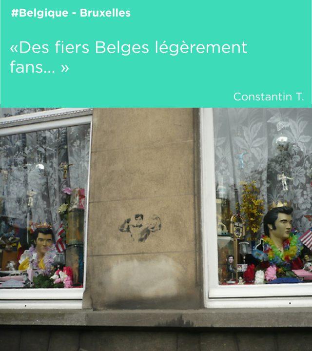 belges fans mascotte elvis
