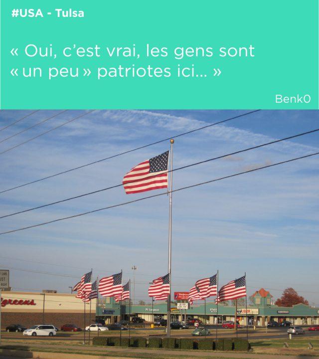 drapeau patriotes usa
