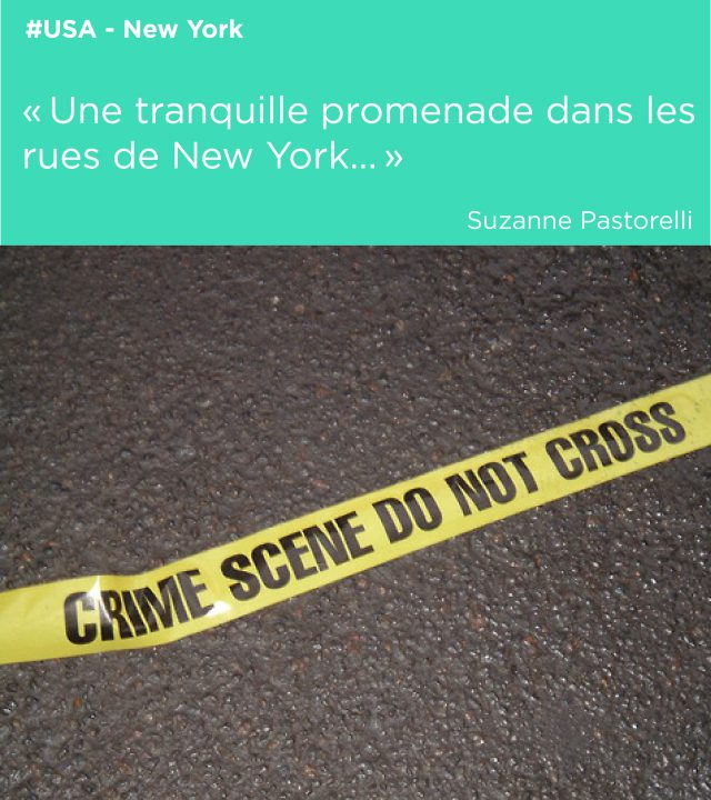 crime scene banniere