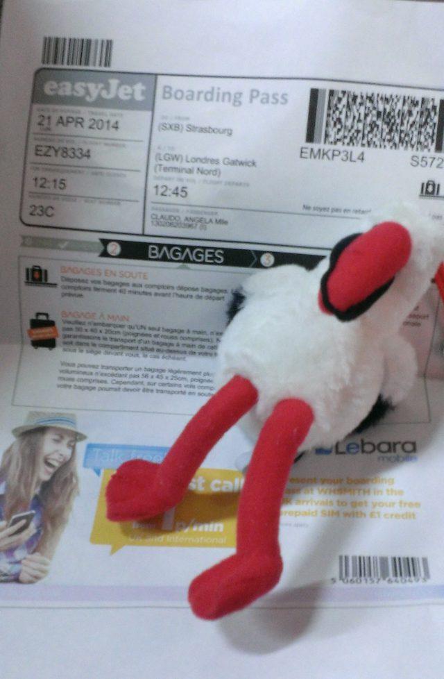 cigogne billet ticket voyage strasbourg