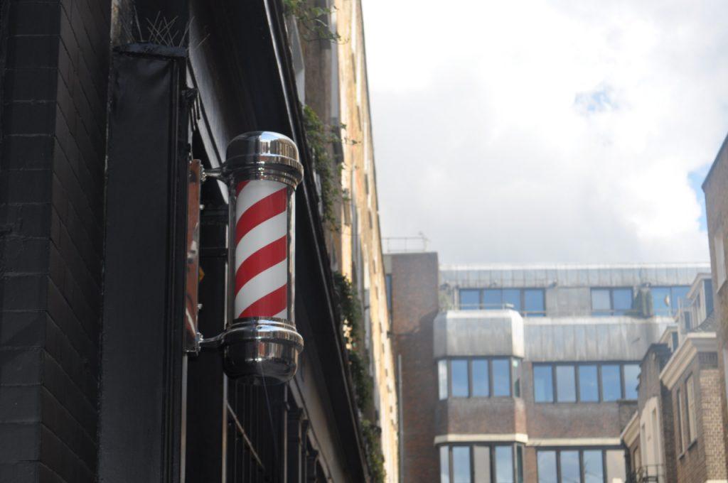 barbier devanture magasin