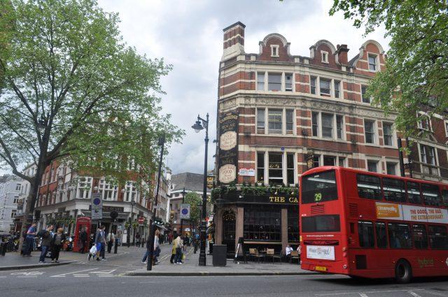 façades londoniennes