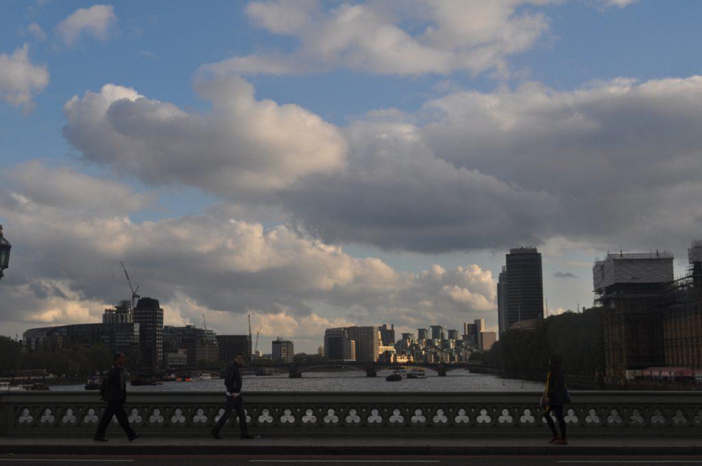 nuages et ville