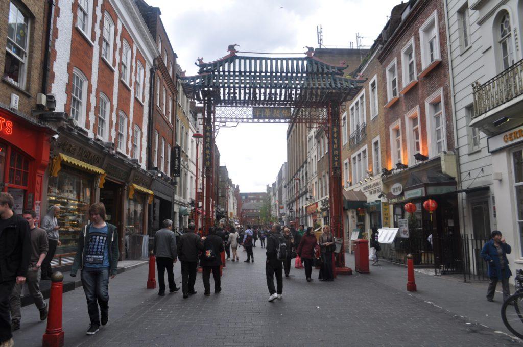 main street china town