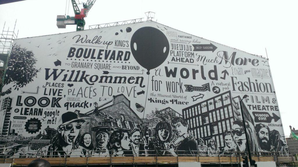 affichage mural street art illustration