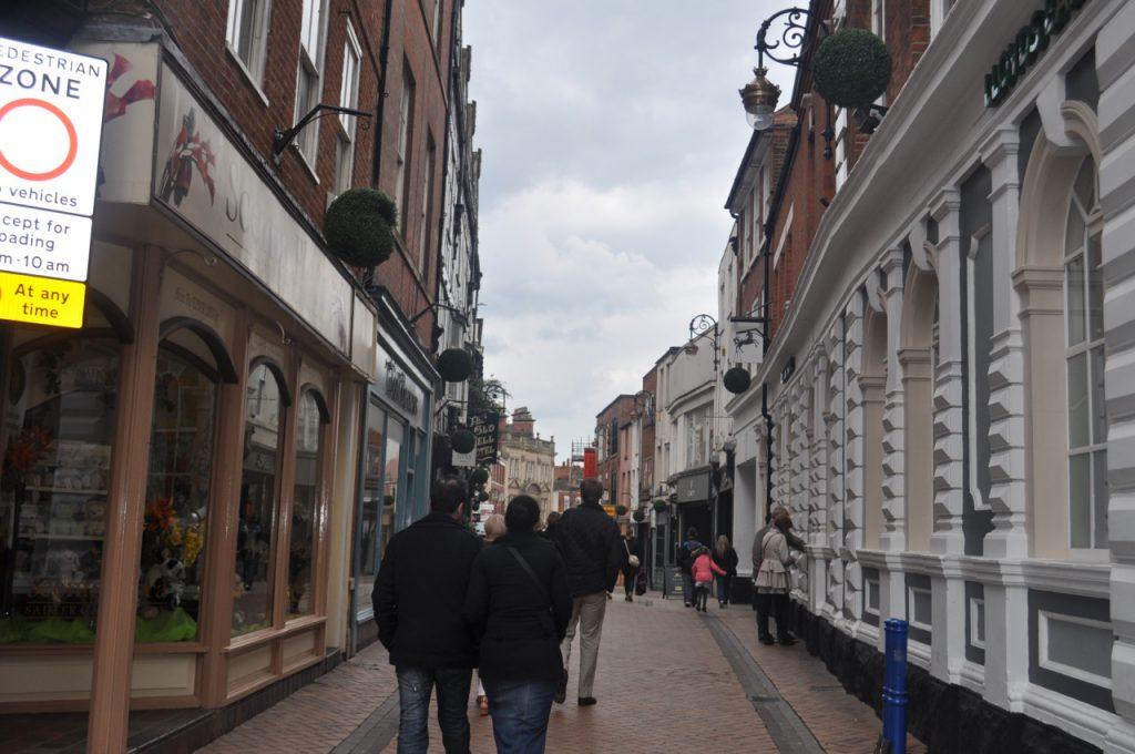 une rue dans derby
