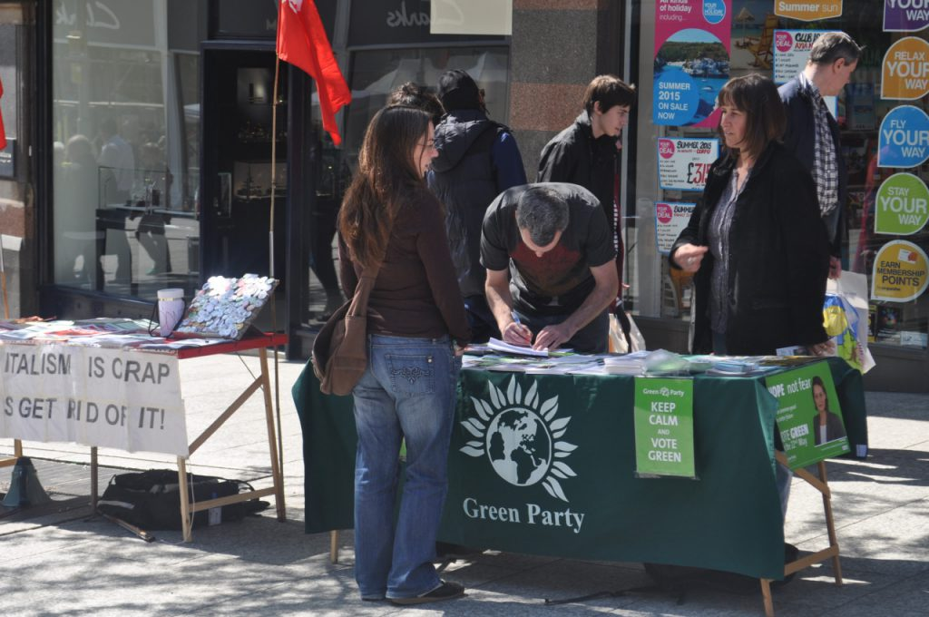 green party nottingham