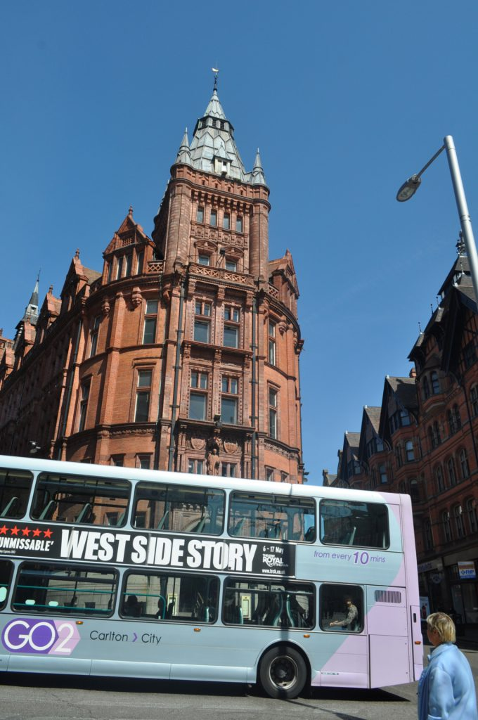 west side story bus