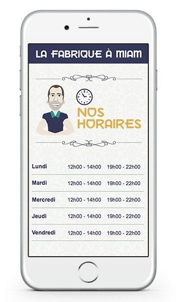 application mobile restaurant graphiste strasbourg freelance