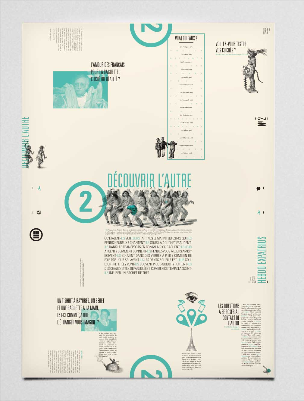 poster typo typographie voyage illustration
