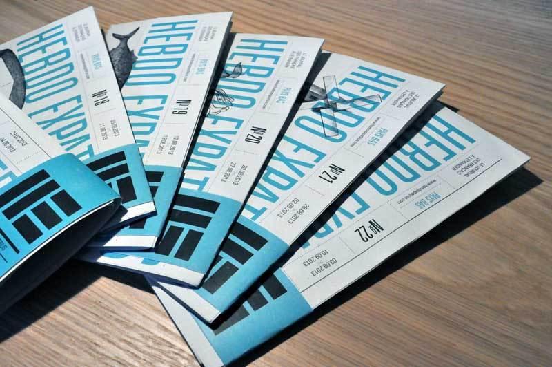 publication magazine alsace journal typographie supports imprimés graphiste
