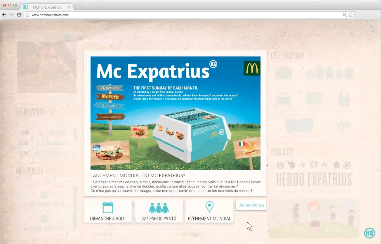 publicité nourriture restaurant site internet strasbourg webdesigner