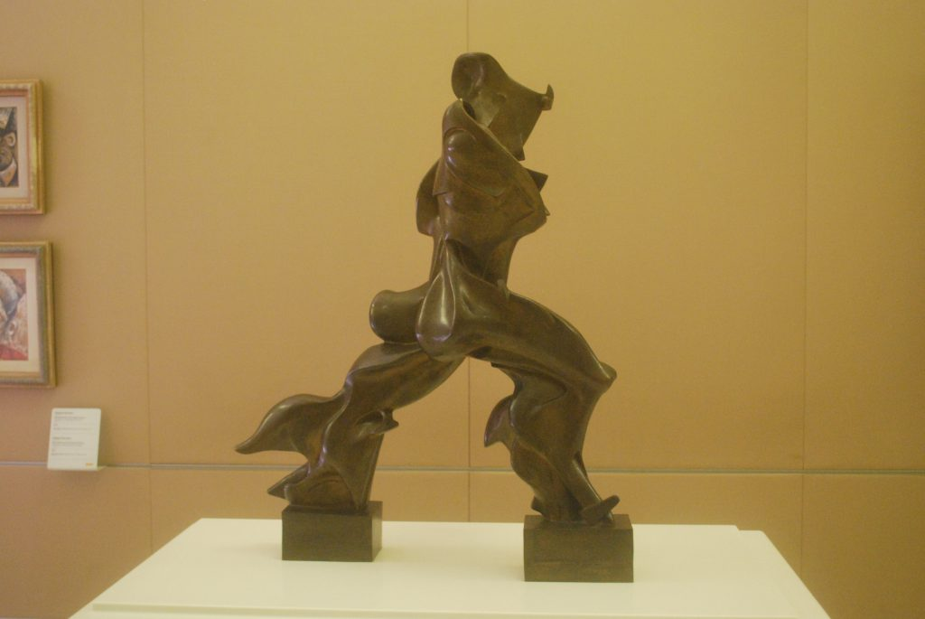 milan exposition graphiste strasbourg sculpture futuriste