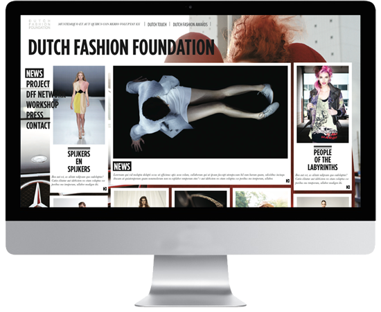 site web interface webdesing webdesigner fashion mode strasbourg graphiste