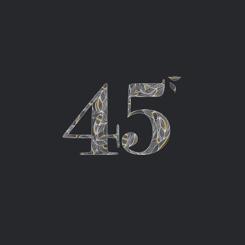 carton d'invitation pour un anniversaire au black and wine à strasbourg, illustration et typographie
