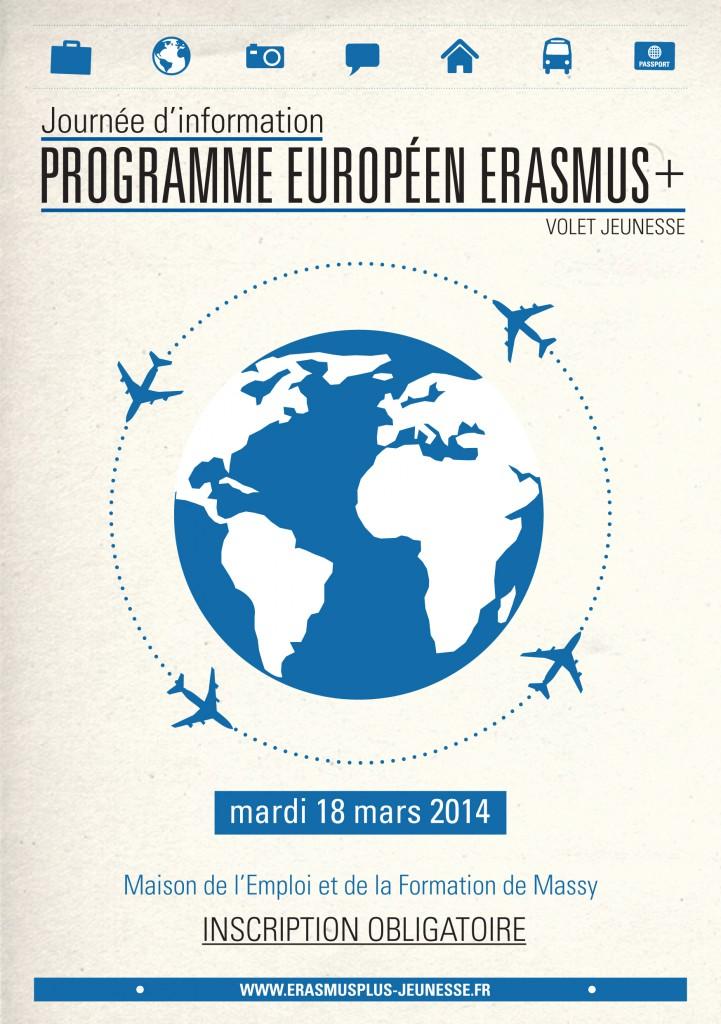 flyer sur programme de l'europe à strasbourg distribués en ville
