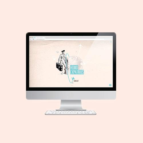 webdesign plateforme échange expatriés site internet alsace