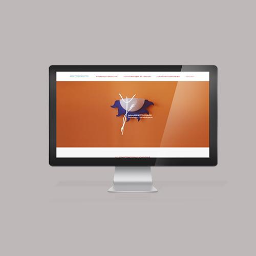 site web psychologue graphiste responsive alsace