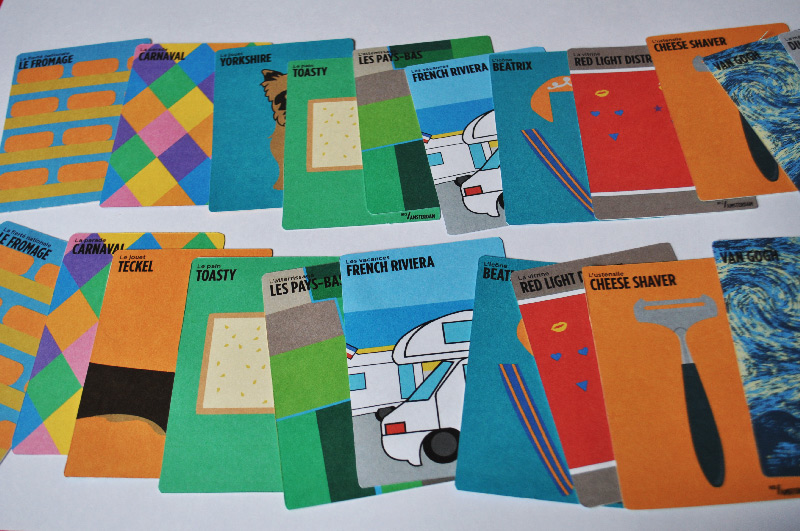 jeu cartes strasbourg illustration graphiste freelance amsterdam nice humour